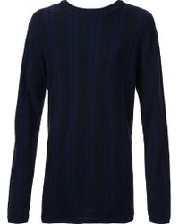 Ziggy Chen - Blue Classic Jumper for Men - Lyst