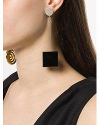 Jacquemus - Metallic Le Carré Earrings - Lyst