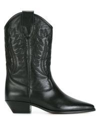 Étoile Isabel Marant | Black Étoile Dallin Boots | Lyst