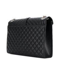 Saint Laurent - Black Medium Envelope Bag - Lyst