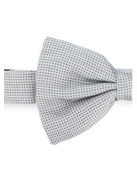 Corneliani - Gray Plain Bow Tie for Men - Lyst