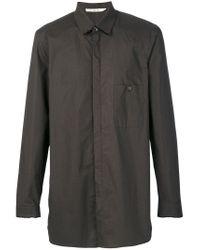 Damir Doma - Brown Sove Shirt for Men - Lyst