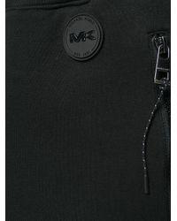 Michael Kors - Black Gathered Track Pants for Men - Lyst