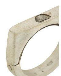 Parts Of 4 - Metallic Sistema Ring - Lyst