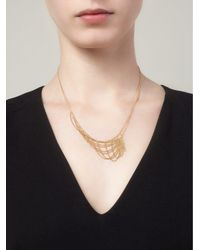 Wouters & Hendrix - Metallic 'tangled Web' Necklace - Lyst