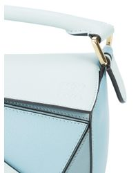 Loewe - Blue Small Puzzle Bag - Lyst