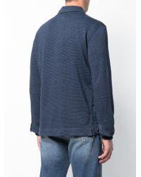 de pata estampado Massimo de A con gallo Alba Azul Camisa tEqwBg5x