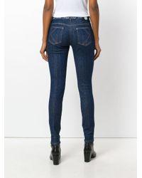 KENZO - Blue Super Stretch Jeans - Lyst