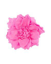 Nude - Pink Flower Brooch - Lyst