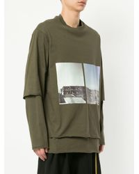 Song For The Mute - Green Long Sleeved Sweatshirt for Men - Lyst