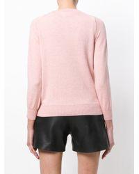 Étoile Isabel Marant - Pink Classic Button Cardigan - Lyst
