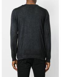 Avant Toi | Black V-neck Pullover for Men | Lyst