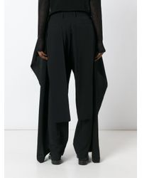 Moohong - Black Wide Leg Trousers - Lyst