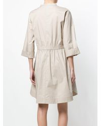 Dorothee Schumacher - Natural Gathered Short Dress - Lyst