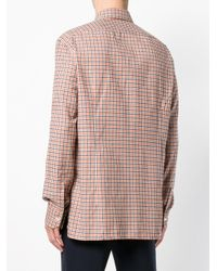 Kiton - Multicolor Checked Button Shirt for Men - Lyst