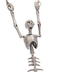Vivienne Westwood - Metallic Ariel Skeleton Necklace - Lyst
