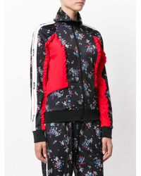 MSGM - Multicolor Floral Print Embossed Jacket - Lyst