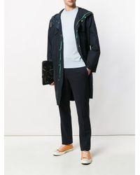 Paul Smith - Blue Fine Knit Sweater for Men - Lyst
