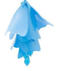 Oscar de la Renta - Blue Impatiens Flower Drop Clip-on Earrings - Lyst