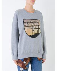 Each x Other - Gray 'limited Edition Robert Montgomery' Sweatshirt - Lyst