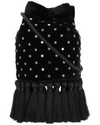 Parlor - Black Star Embellished Tote Bag - Lyst