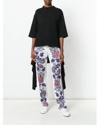 P.A.R.O.S.H. - White Paisley Dotted Track Pants - Lyst
