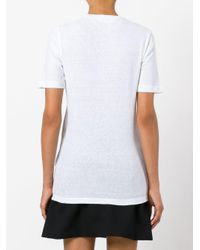 DSquared² - White Elk Print T-shirt - Lyst