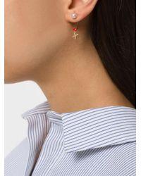 Delfina Delettrez - Metallic Lips Piercing Earring - Lyst