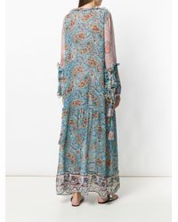 Anjuna - Blue Bohemian Ciclade Maxi Dress - Lyst