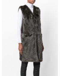 Urbancode Green Faux Fur Gilet