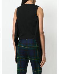 DSquared² - Black Sleeve Tie Waist T-shirt - Lyst