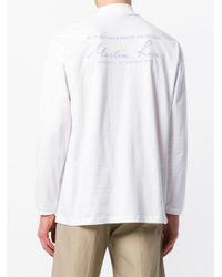 Martine Rose - White Classic Funnel-neck Top for Men - Lyst