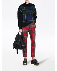 Burberry - Black Medium Rucksack Backpack for Men - Lyst
