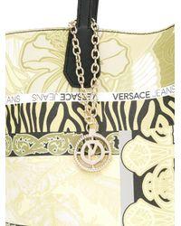Versace Jeans - Multicolor Multi-pattern Tote - Lyst