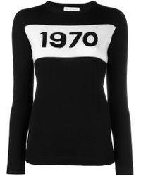Bella Freud - Black 1970 Sweater - Lyst