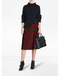 Burberry - Black Medium Banner Tote - Lyst