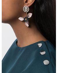 Marni - Multicolor Orecchini Con Perla - Lyst