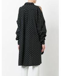 Henrik Vibskov - Black 'bumble' Shirt Dress - Lyst