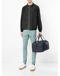Cerruti 1881 Reisetasche mit Leder-Details in Blue für Herren