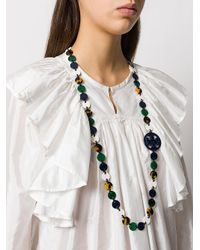 Tory Burch - Multicolor Flat Beaded Necklace - Lyst