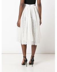 Maison Rabih Kayrouz - Multicolor Tassel Pleated Skirt - Lyst