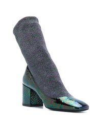 Premiata - Green Glitter Sock Boots - Lyst