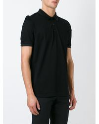 Ferragamo - Black Classic Polo Shirt for Men - Lyst