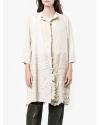 By Walid - Natural Antique Lace Coat - Lyst