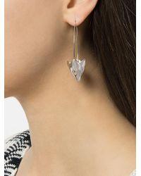 Pamela Love - Metallic Large Lotus Earrings - Lyst