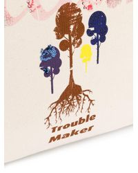 John Galliano - Multicolor Logo Print Tote - Lyst
