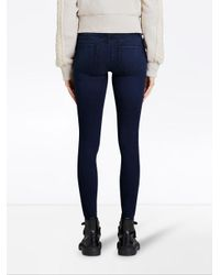 Burberry - Blue Power-stretch Skinny Jeans - Lyst