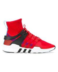 Lyst Adidas EQT Support ADV Winter zapatilla en rojo para hombres