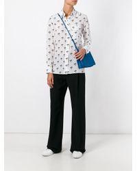Victoria Beckham | White Daisy Print Shirt | Lyst