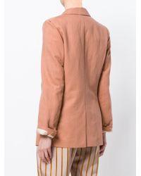 Forte Forte Pink Straight-fit Blazer